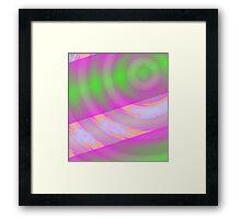 Warp Drive 1 - Space Travel Art Framed Print