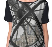 D'Orsay Clock Paris Chiffon Top