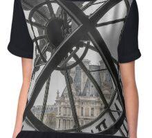 D'Orsay Clock Paris Chiffon Top