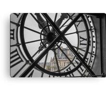 D'Orsay Clock Paris Canvas Print