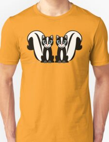 TWO LITTLE STINKERS Unisex T-Shirt