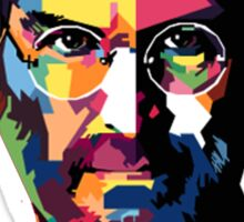 Steve Jobs | PolygonART Sticker