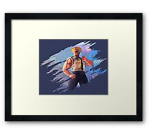 Guile Framed Print