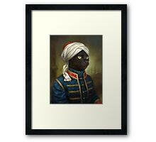 The Hermitage Court Moor Cat  Framed Print