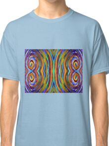 Psychedelic 4 Circle Supreme Classic T-Shirt
