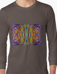 Psychedelic 4 Circle Supreme Long Sleeve T-Shirt