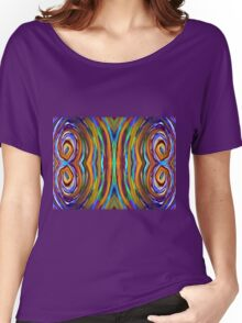 Psychedelic 4 Circle Supreme Women's Relaxed Fit T-Shirt