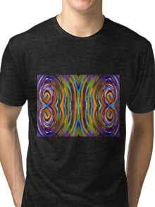 Psychedelic 4 Circle Supreme Tri-blend T-Shirt