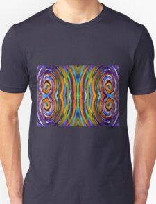 Psychedelic 4 Circle Supreme Unisex T-Shirt