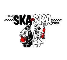 Trad Ska Vs Ska Punk Photographic Print