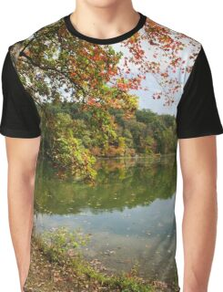 Autumn Sunrise Landscape Graphic T-Shirt