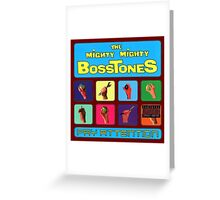 The Mighty Mighty Bosstones : Pay Attention Greeting Card