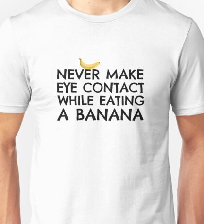 Funny Humour Dick Joke Banana Sex Unisex T-Shirt