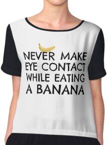 Funny Humour Dick Joke Banana Sex Chiffon Top