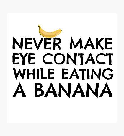 Funny Humour Dick Joke Banana Sex Photographic Print
