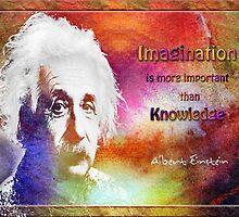 Einstein- imagination by amira