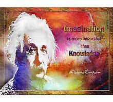 Einstein- imagination Photographic Print