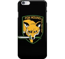 FOXHOUND METAL GEAR SOLID iPhone Case/Skin