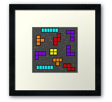 TetriSS COntaminated  Framed Print