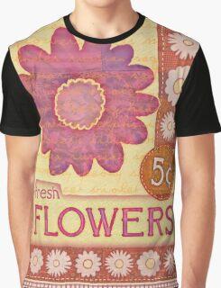 Fresh Flowers Graphic T-Shirt