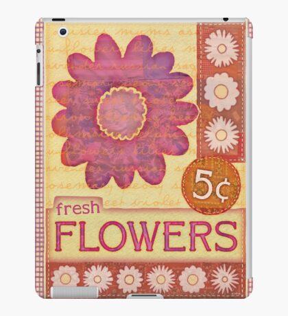 Fresh Flowers iPad Case/Skin