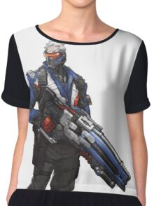 We're all soldiers now Chiffon Top