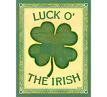 Luck O' the Irish Photographic Print