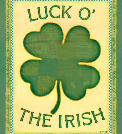 Luck O' the Irish Sticker