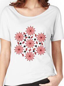 Floral turmoil Women's Relaxed Fit T-Shirt