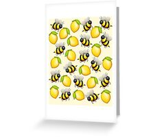 Bee Lemonade Greeting Card