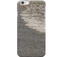 Beach with colorful and round pebbles and blue sky iPhone Case/Skin