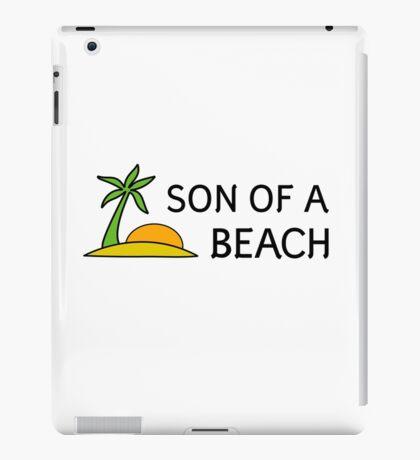 Funny Cool Humour Summer Holliday Beach Sun iPad Case/Skin