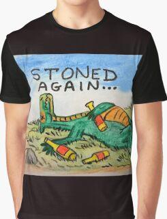 Drunk Dragon Graphic T-Shirt