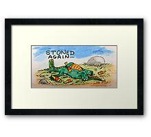 Drunk Dragon Framed Print