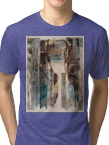 AN EMPTY DOORWAY AND A MAPLE LEAF—MACLEISH Tri-blend T-Shirt