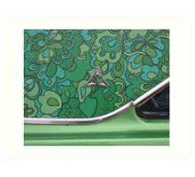 "1969 Dodge Dart Swinger ""Mod-Top"" Art Print"
