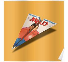 MAD Paper Airplane 145 Poster