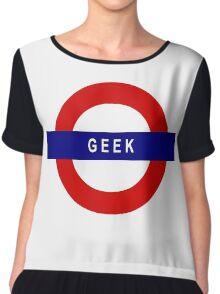 Geek Chiffon Top