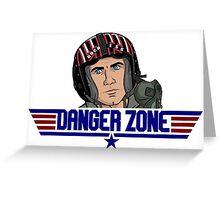 DangerZone Greeting Card