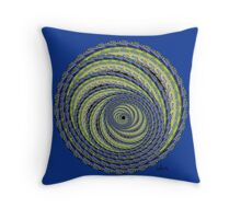 Abstract 438B Fractal Throw Pillow