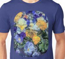 Monet's Pansies Unisex T-Shirt