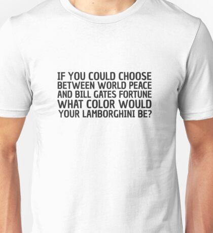 Will Ferrel Quote Funny Bill Gates Cool Humour Joke Unisex T-Shirt
