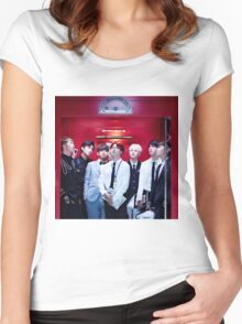 Bangtan Sonyeondan (Dope) Women's Fitted Scoop T-Shirt