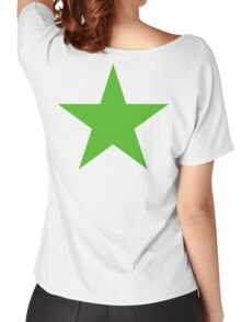 GREEN, STAR, Environment, Environmentalist, Ecology, Eco, Nature, Green, Women's Relaxed Fit T-Shirt