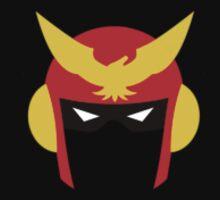 Captain Falcon's Helmet One Piece - Short Sleeve