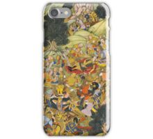 Burghul Nuyan killed on the battlefield, attributed to Basawan and Bhim Gujarati, India, Mughal, circa iPhone Case/Skin