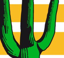 sun heat hot lines sunset cactus desert design great green cool Sticker