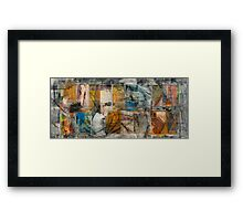 TOO LATE IN THE WRONG RAIN THEY COME TOGETHER WHOM THEIR LOVE PARTED—THOMAS Framed Print