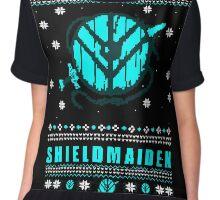 shieldmaiden for the holidays #2 Chiffon Top