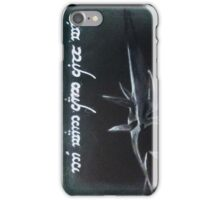 No Man Can Kill Me iPhone Case/Skin